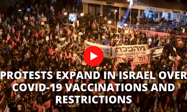 2021-09-20: PROTEST BREIDT ZICH UIT IN ISRAËL OVER COVID-19 VACCINATIES EN BEPERKINGEN ******* PROTESTS EXPAND IN ISRAEL OVER COVID-19 VACCINATIONS AND RESTRICTIONS