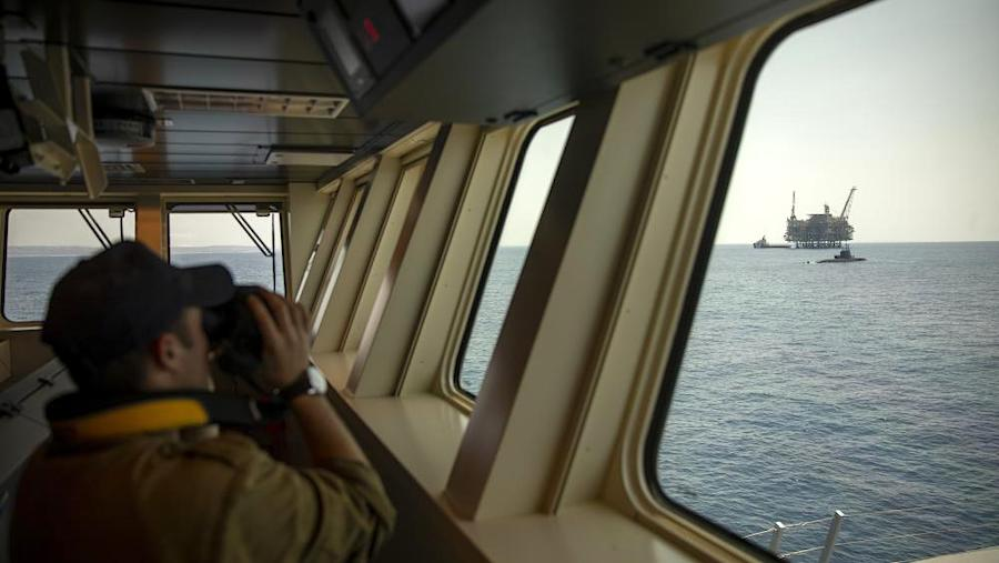 Israeli Navy Ship Atzmaut