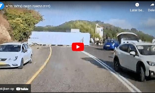 2021-09-30: Ten minste vijf doden, tientallen gewonden bij busongeluk in noord-Israël ******* At least five killed, dozens injured in bus crash in northern israel